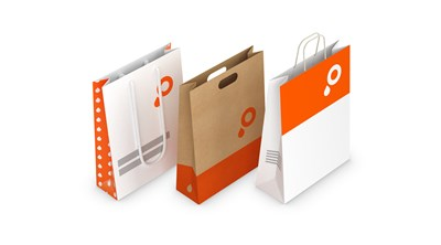 Paper carrier bags group image