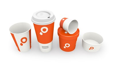 Paper cups group image