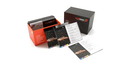 Material sample box