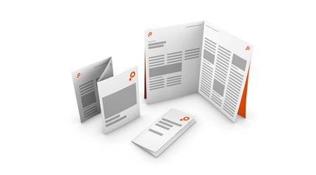 Leaflet printing online ∙ SAXOPRINT