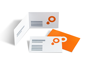 Download print templates for your business cards
