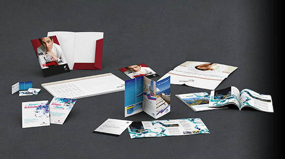 Printing advertising products
