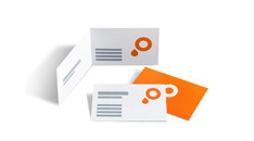 Calculate business cards