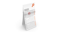 Order Multi Month Desk Calendars