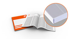 Calculate booklets and brochures with perfect binding now