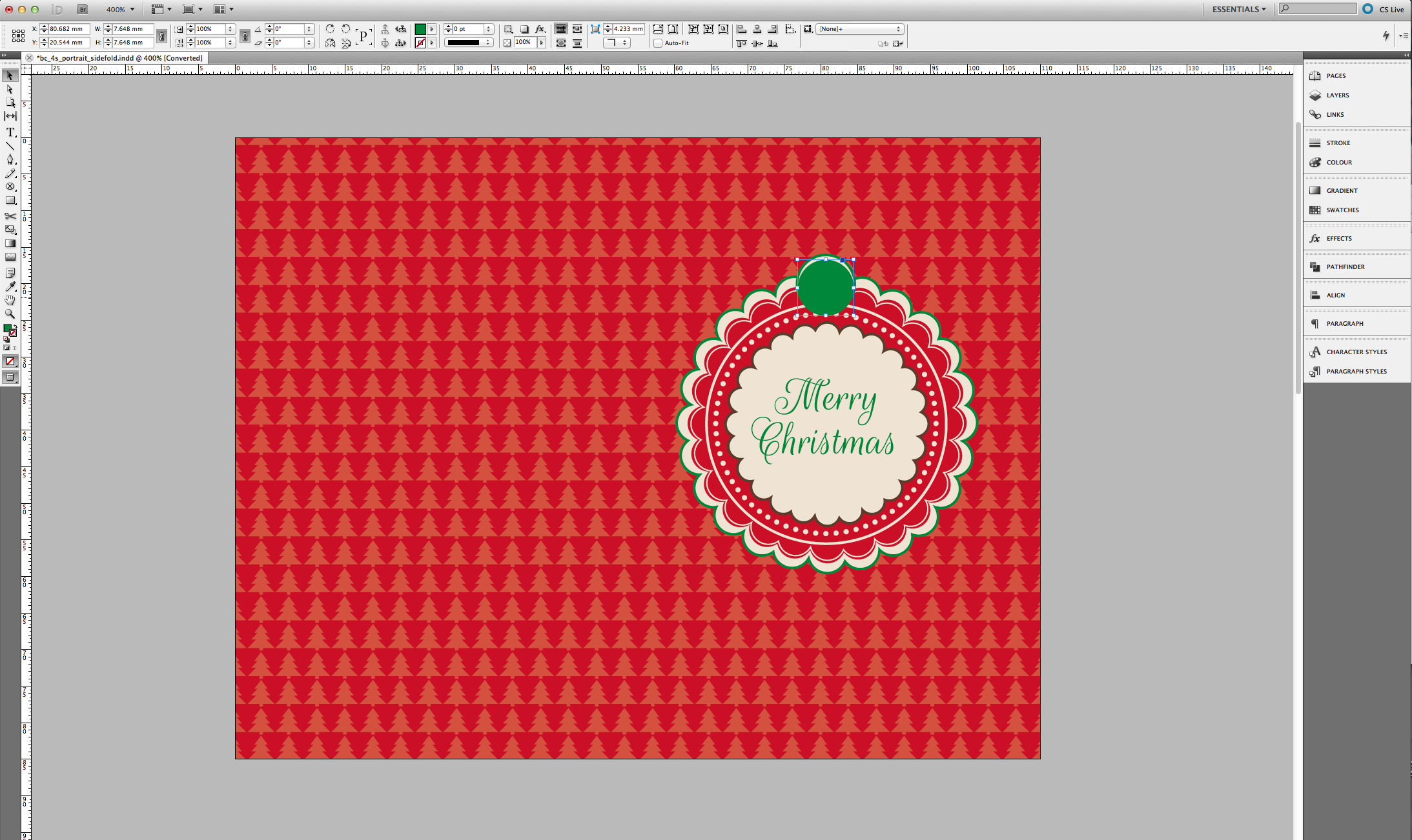 Tutorial: Christmas Gift Tag Template » SAXOPRINT Blog UK