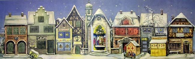 History of the Advent Calendar: Sellmer 1946
