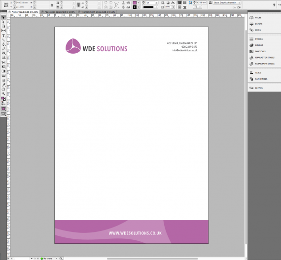 Business Stationery with Pantone Colour (14)