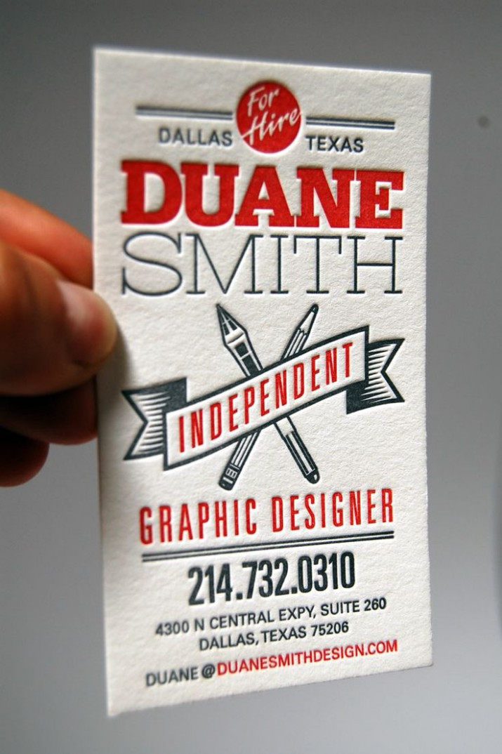 Business Card Layout Guidelines - Be Creative