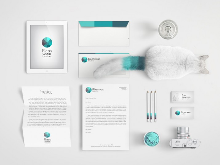 Examples for Stationery Branding (01)