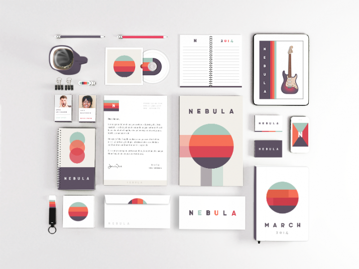 Examples for Stationery Branding (02)