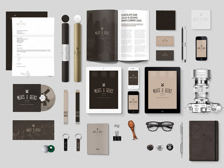Examples for Stationery Branding (04)