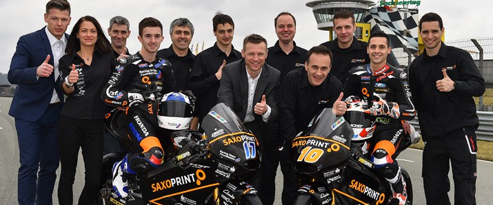 The SAXOPRINT Racing Team Germany is all set for 2015