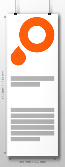 A2 Long and A1 Long – ad posters in extra length format