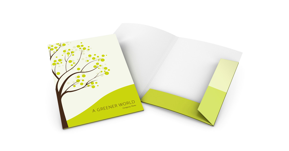 Great presentation folder templates free download for Pocket folder template illustrator