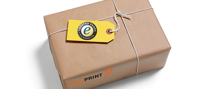 SAXOPRINT – Full purchase protection with the Trusted Shops Guarantee