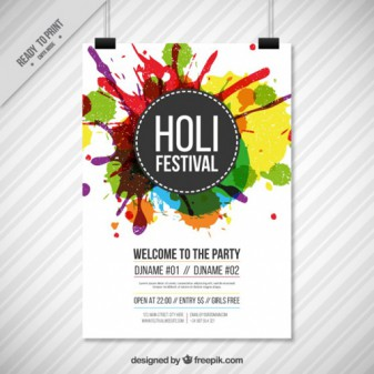 festival poster template in photoshop saxoprint blog uk