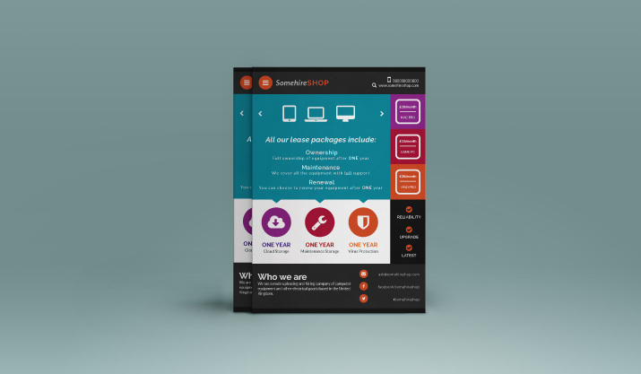 tutorial how to create a flat design flyer using illustrator