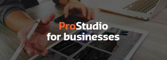 ProStudio for businesses
