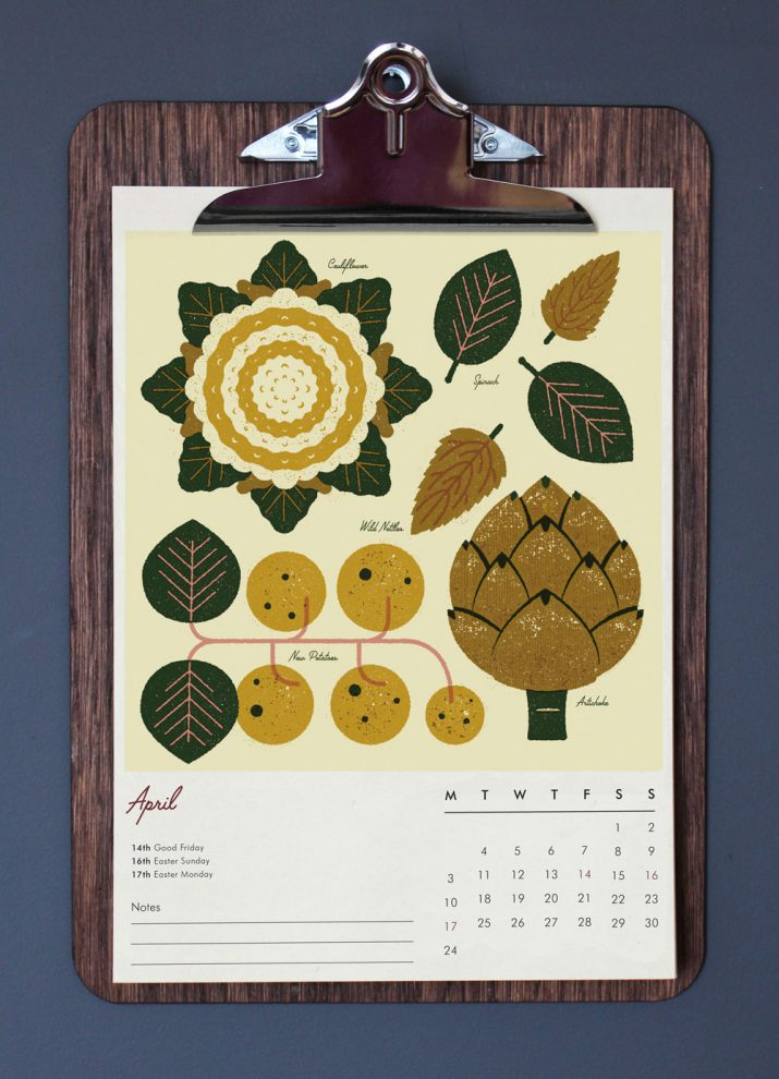 Creative calendar designs for 2017 (1)