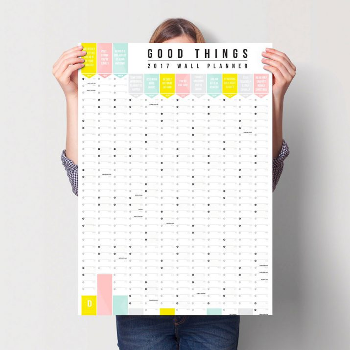 Creative calendar designs for 2017 (14)