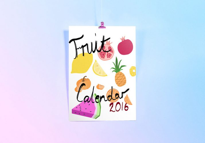 Creative calendar designs for 2017 (26)