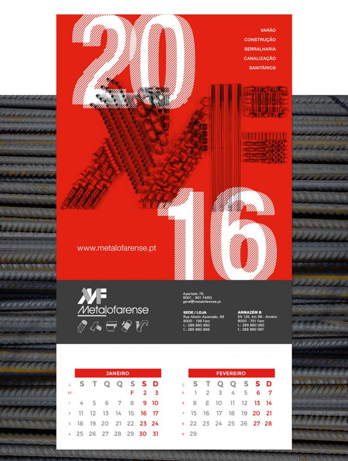 Creative calendar designs for 2017 (33)