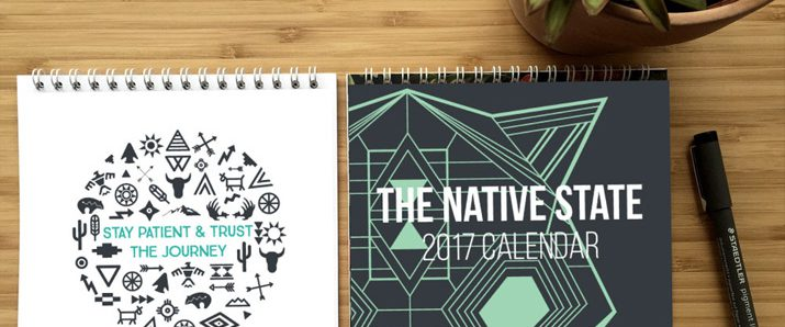 Creative calendar designs for 2017