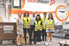 London College of Communication students at SAXOPRINT (14)