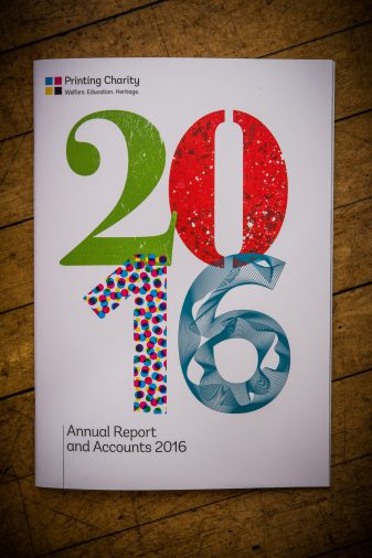 Printing Charity's 2016 Annual Report Brochure