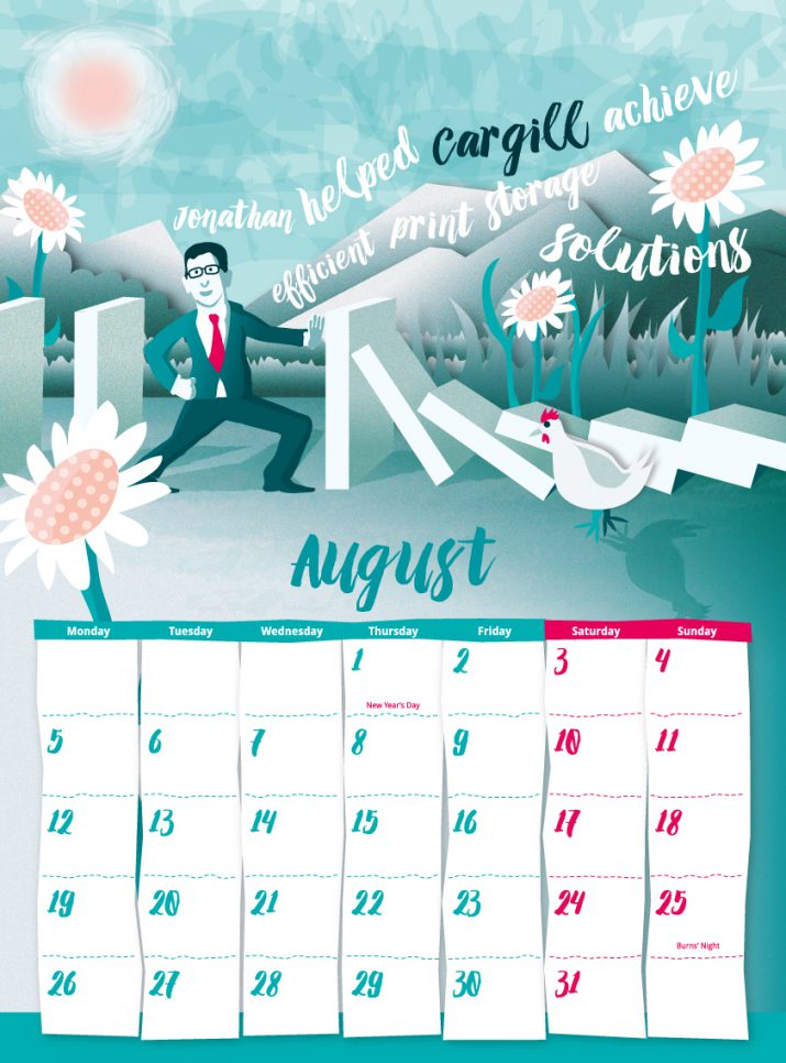 Calendar Design Uk : These calendar ideas for will astonish you