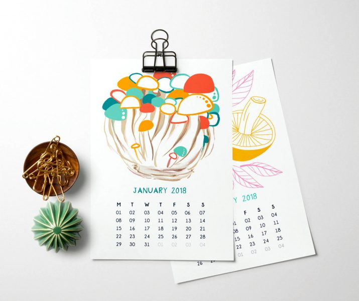 Calendar Design Material : These calendar ideas for will astonish you